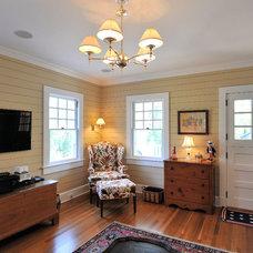 Traditional Family Room by T. Jeffery Clarke Architect LLC