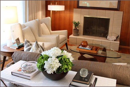 Modern Family Room by Opal Design Group