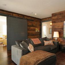 Contemporary Family Room by Allard Ward Architects