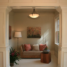 Traditional Family Room by Buffington Homes South Carolina