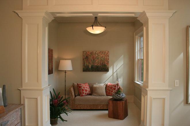 Traditional Family Room by Buffington Homes South Carolina