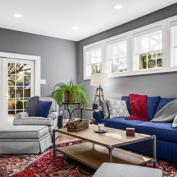 2 story addition with custom family room