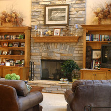 Traditional Family Room by Patrick Murphy Builders, LLC
