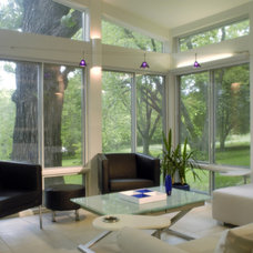 Modern Family Room by Kaufman Construction Design and Build