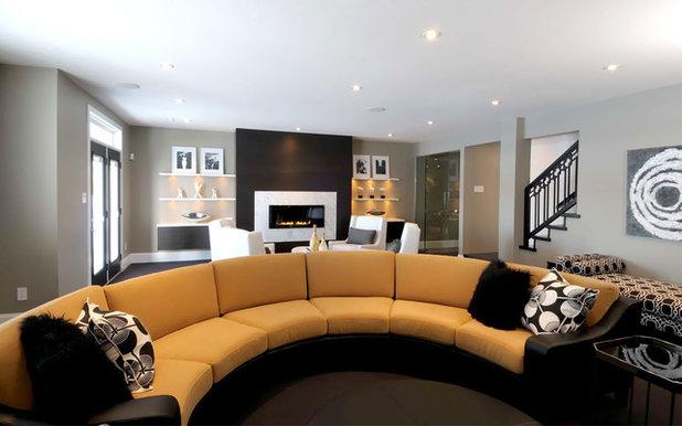 Contemporáneo Sala de estar by Atmosphere Interior Design Inc.