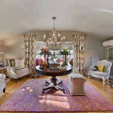 Traditional Family Room by Teri Fotheringham Photography