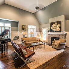 Beach Style Family Room by Collins Sarsfield
