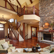 Traditional Family Room 2012 Event Home