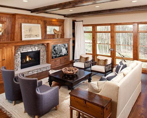 Tv Beside Fireplace Houzz