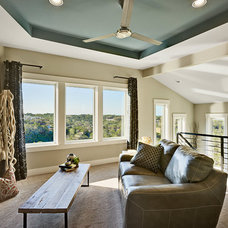 Contemporary Family Room by AUSTIN DESIGN GROUP