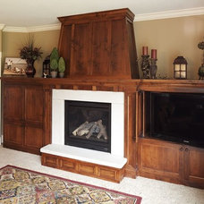 Traditional Family Room by Nu-Face of PA