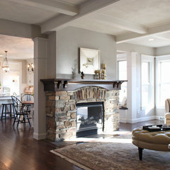 traditional family room by Bradd W. Syring LLC - Custom Homes
