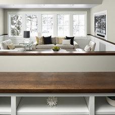 Contemporary Family Room by DiGiacomo Homes & Renovation