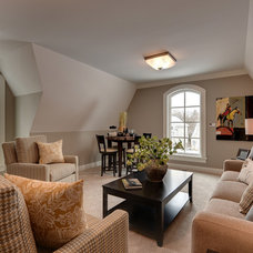 Traditional Family Room by Spacecrafting / Architectural Photography