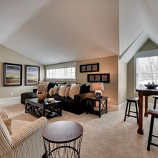Traditional Family Room by Highmark Builders