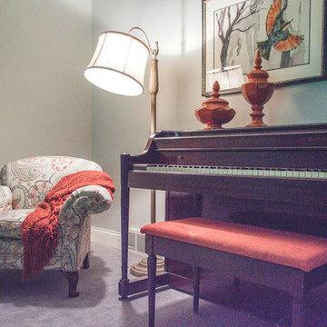 2017 | Frankfort Home: Basement Family Room