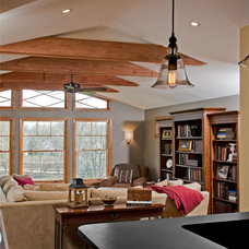 Traditional Family Room by HomeTech Renovations, Inc.