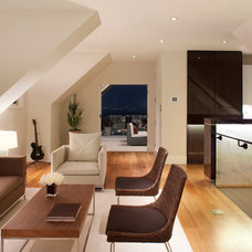 Contemporary Family Room by Holmes Culley