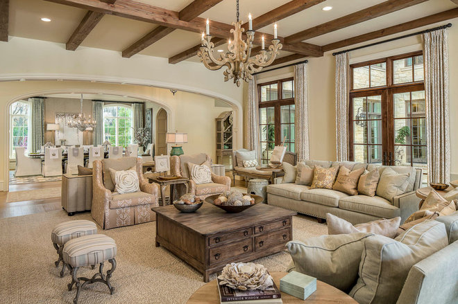 Traditional Family Room by Platinum Series by Mark Molthan
