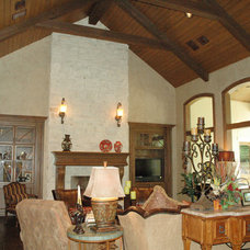 Traditional Family Room by Rice Residential Design