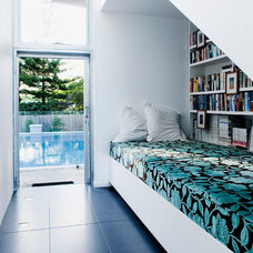 Contemporary Family Room by Push Pty Ltd
