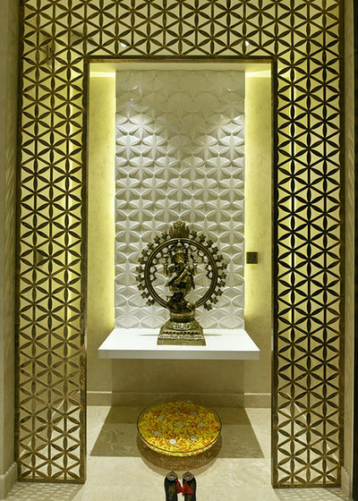 Indian Family Room by SHAHEN MISTRY ARCHITECTS