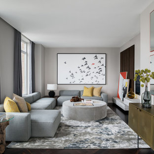 75 Beautiful Contemporary Family Room Pictures Ideas Houzz