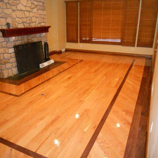 """5"""" Select Cherry With Walnut Border"""