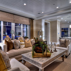 Traditional Family Room by Spinnaker Development