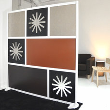 Modern Screens And Wall Dividers by LOFTwall Divider Solutions