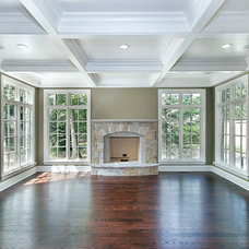 Traditional Family Room by Raugstad Inc.