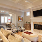 Bookcases and Fireplace Mantels - Traditional - Family ...