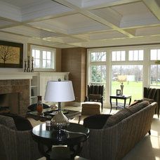 Traditional Family Room by Cory Smith Architecture