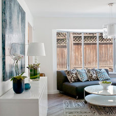 Modern Family Room by Arbutus Interiors