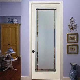9-Lite Obscure Decorative Glass Interior Door