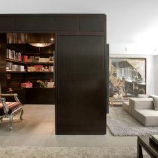 Contemporary Family Room by Diane Burgio Design