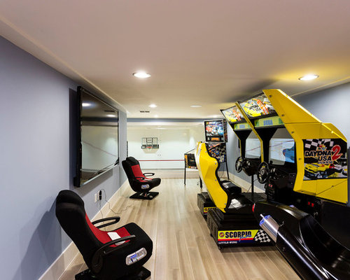 Video Game Room Ideas Pictures Remodel and Decor – Gamer Bedroom