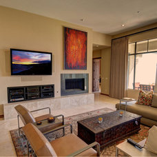 Contemporary Family Room by The Matheson Team RE/MAX Fine Properties