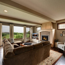Traditional Family Room by The Barkleys Edina Realty
