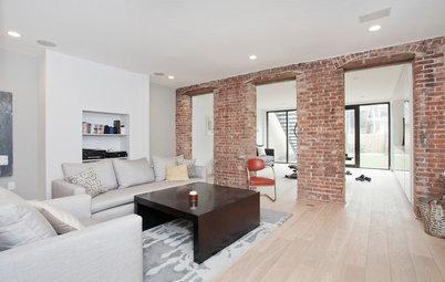 Des briques dans la maison, pour ou contre ?