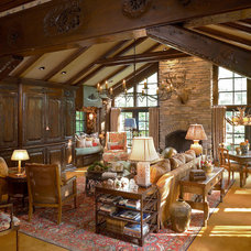 Traditional Family Room by Jason Moore & Associates