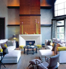 contemporary family room by Anderson Design Studio
