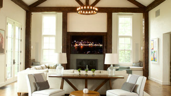 A Great Room for Living and Dining