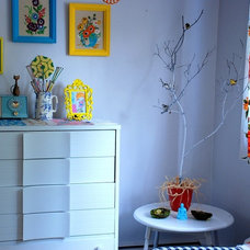Eclectic Family Room A Little Corner