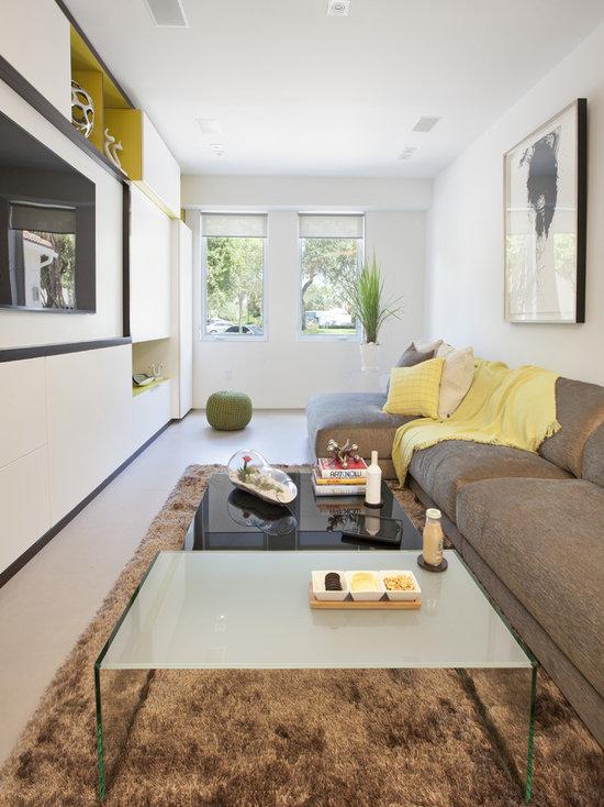 Narrow Living Room Houzz