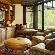 Traditional Family Room by Jordan Design Studio, Ltd.