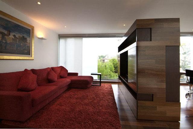 Contemporary Family Room by Aurelio Vazquez