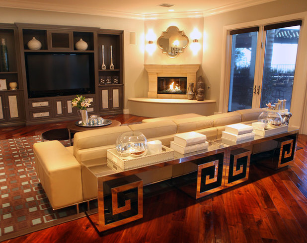 Contemporary Family Room By A S D Interiors Shirry Dolgin Owner