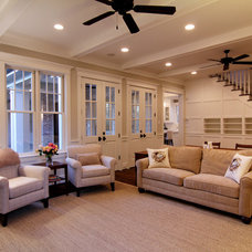 Traditional Family Room by Parker Stuckey Residential