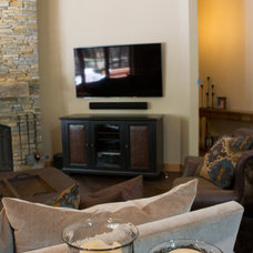 Traditional Family Room by Paul Schatz Furniture